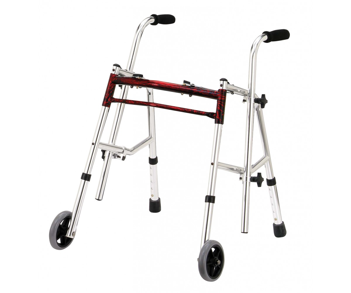 Flame Red Junior Glider Walker