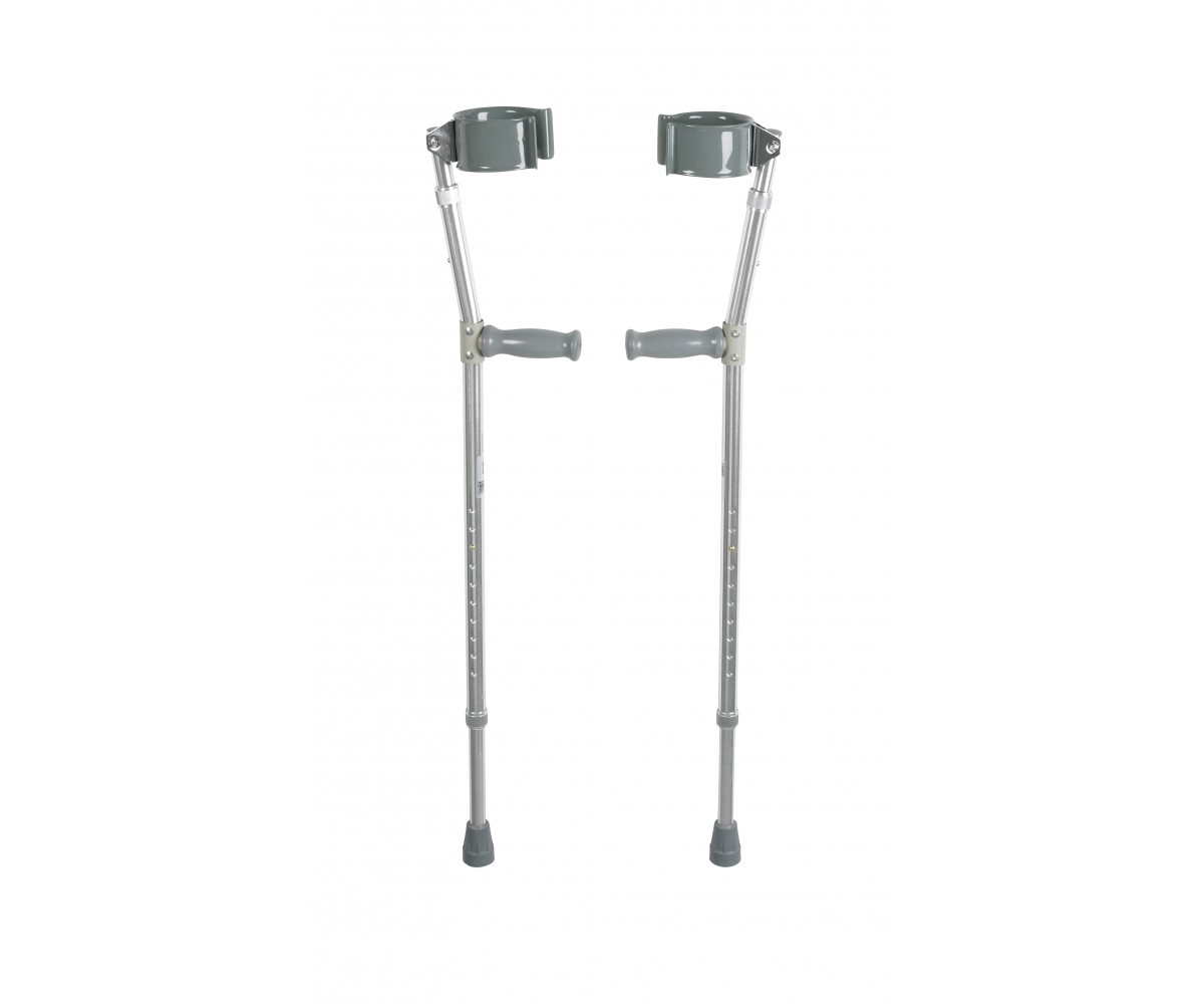 Lightweight Bariatric Walking Forearm Crutches