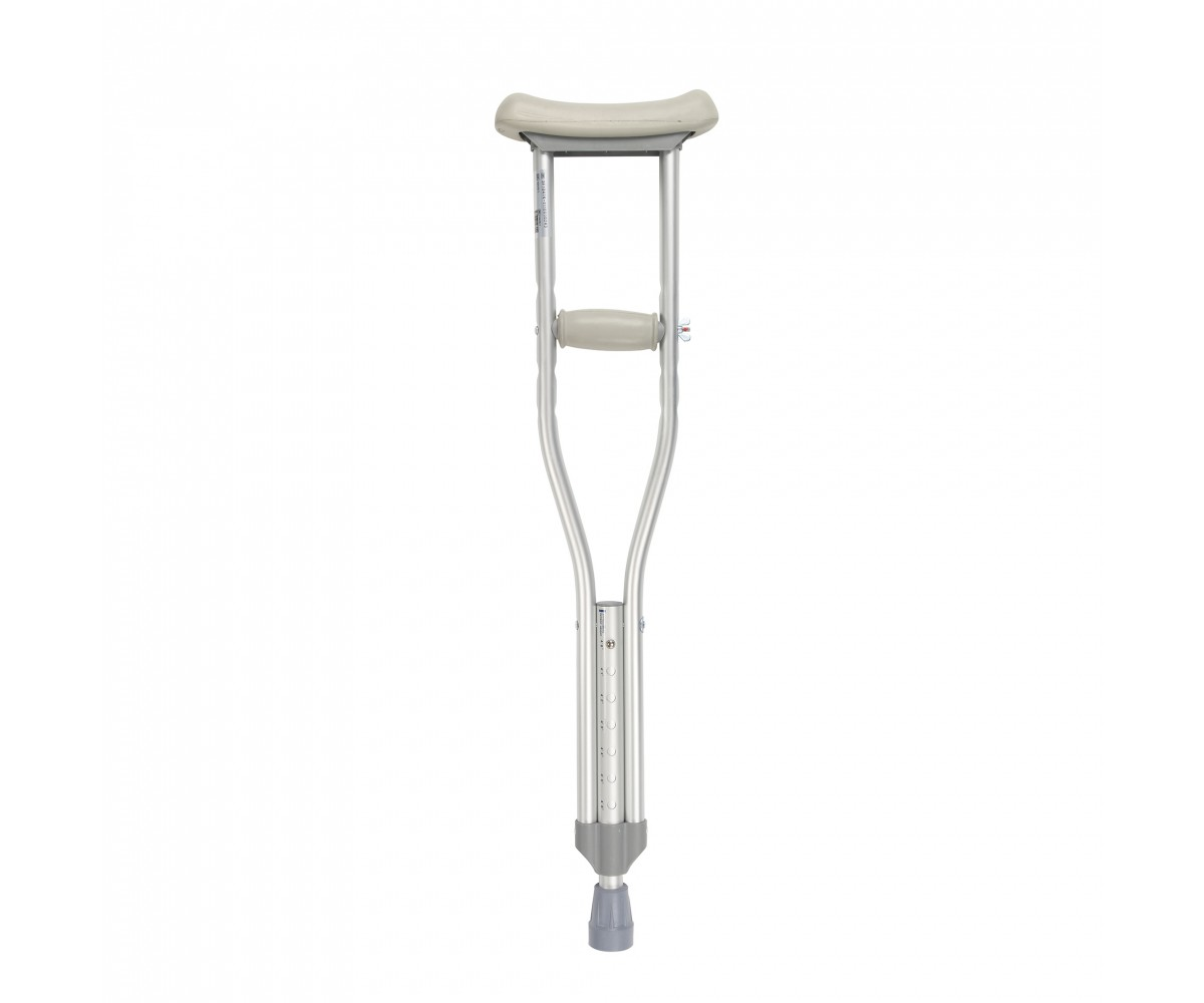 Pediatric Walking Crutches with Underarm Pad and Handgrip