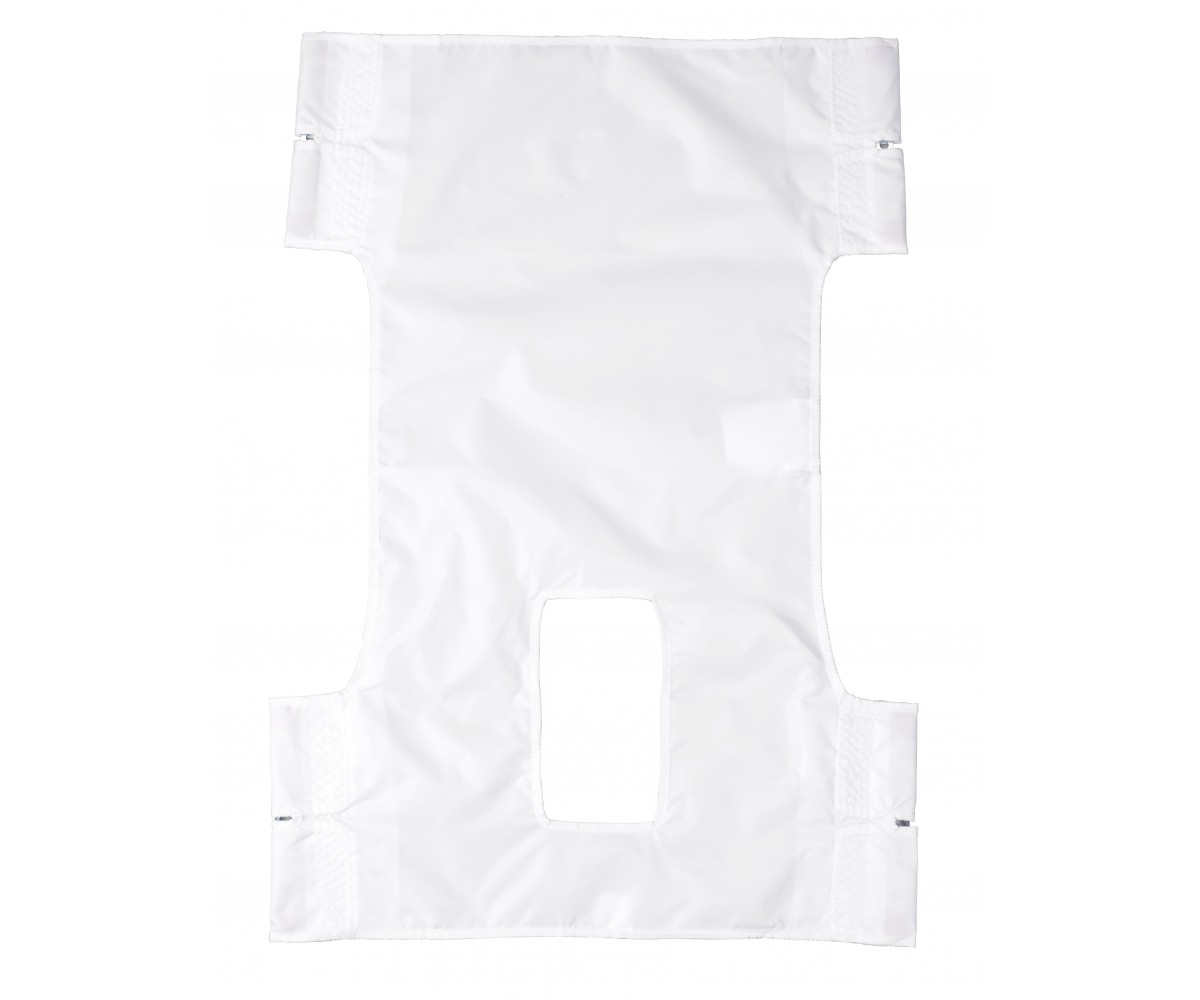 Nylon Patient Lift Sling with Commode Cutout