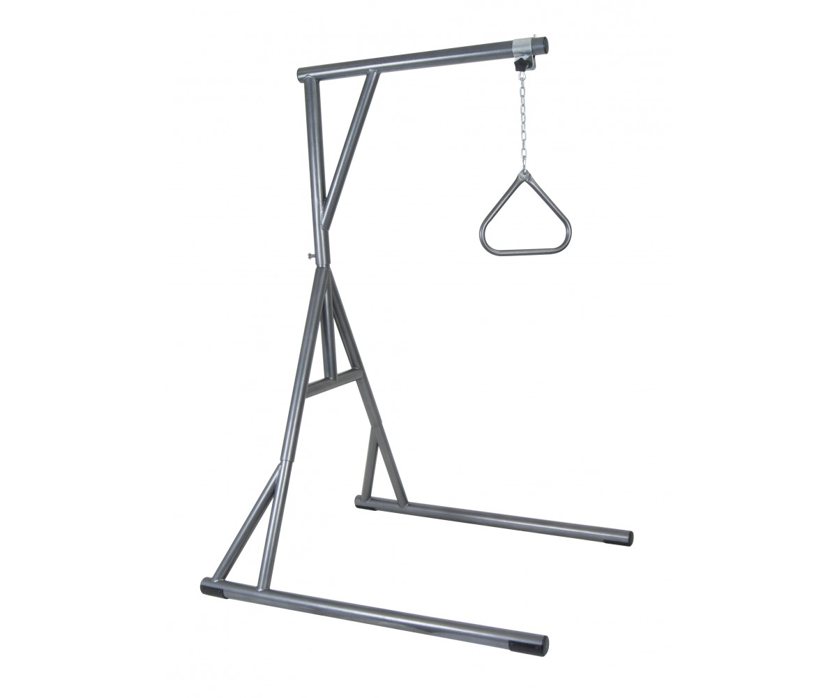 Bariatric Heavy Duty Silver Vein Trapeze Bar