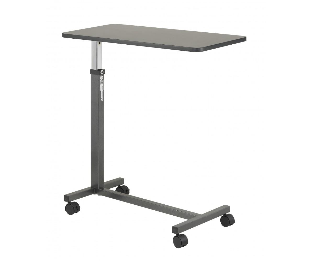 Non Tilt Top Silver Vein Overbed Table