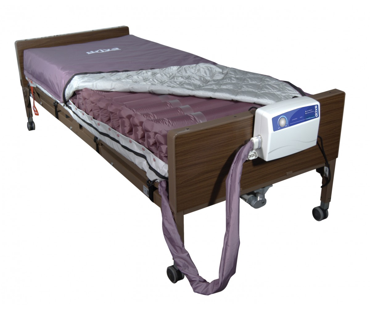 Med Aire Low Air Loss Mattress Replacement System with Alternating Pressure