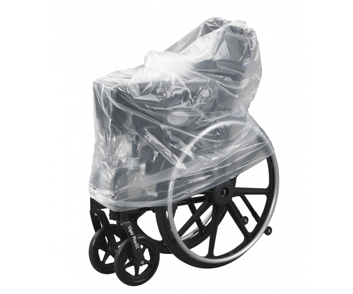 Clear Plastic Wheelchair Storage Transport Cover Bag