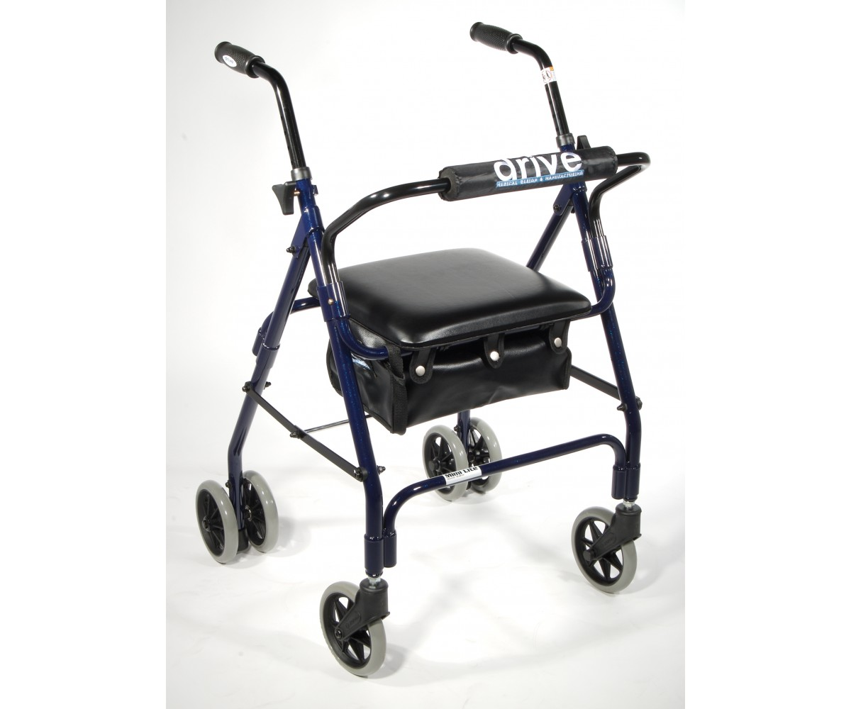 Mimi Lite Push Brake Rollator Walker