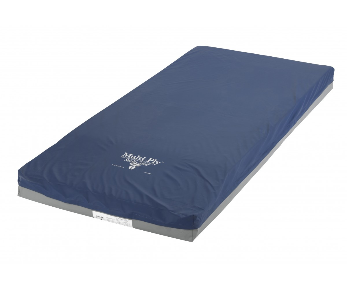 Multi-Ply Dynamic Elite Pressure Redistribution Foam Mattress 80 Inch Elevated Perimeter