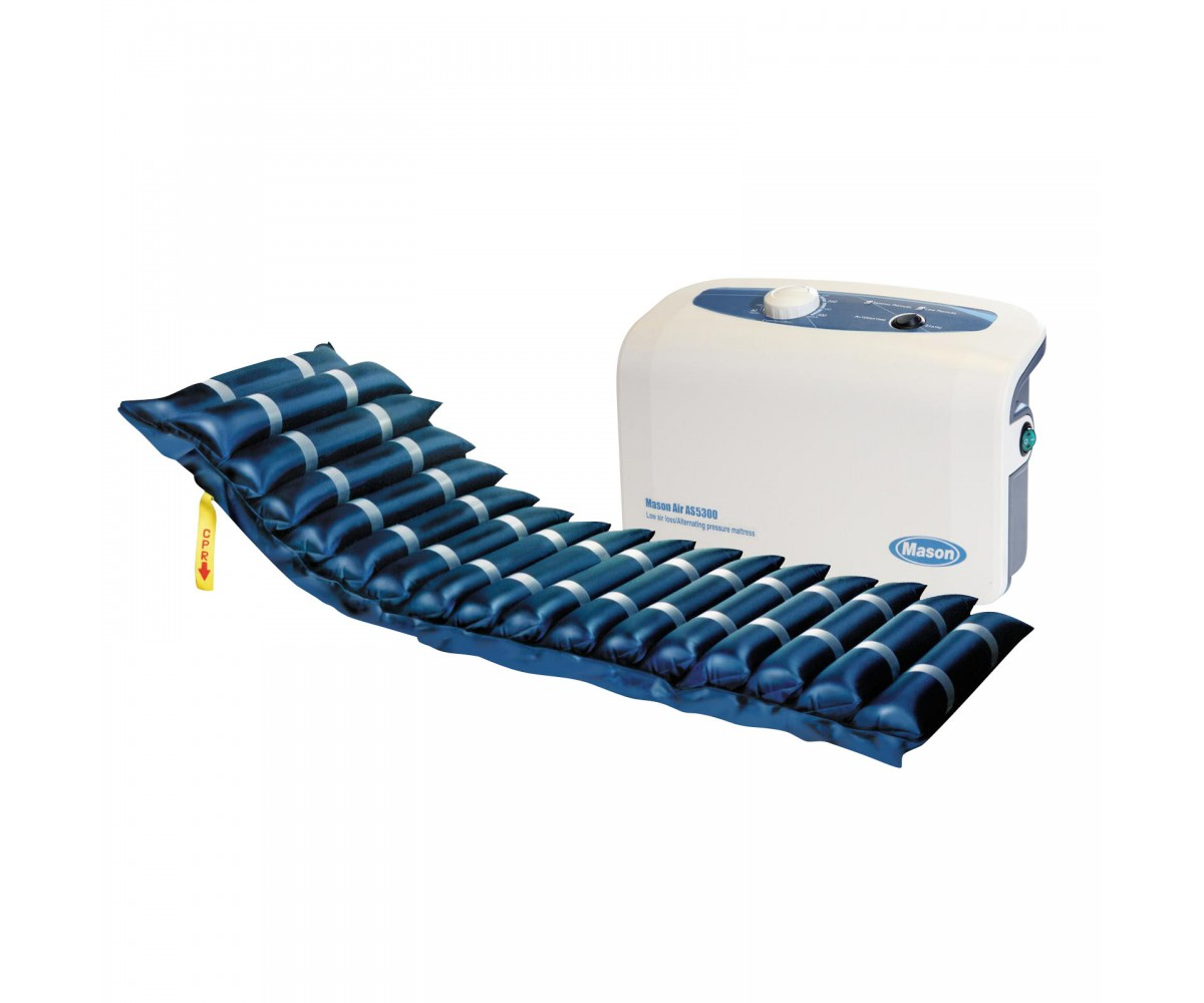 "Masonair 5"" Air with 3"" Foam Alternating Pressure and Low Air Loss Mattress System"