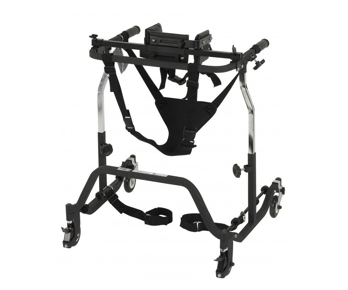 Adult Comet Black Anterior Gait Trainer