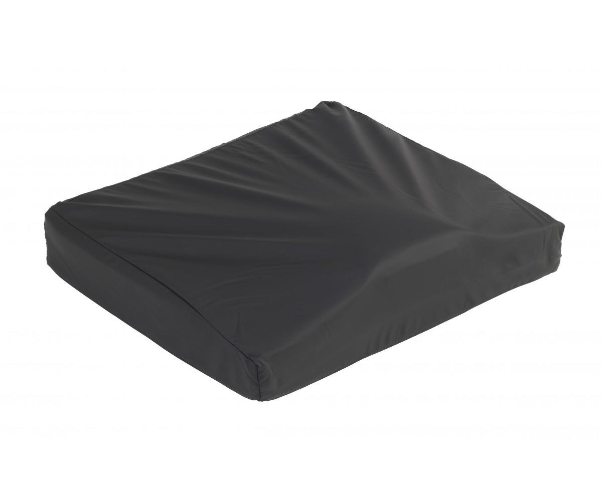 "Titanium Gel/Foam Wheelchair Cushion 16"" x 18"""