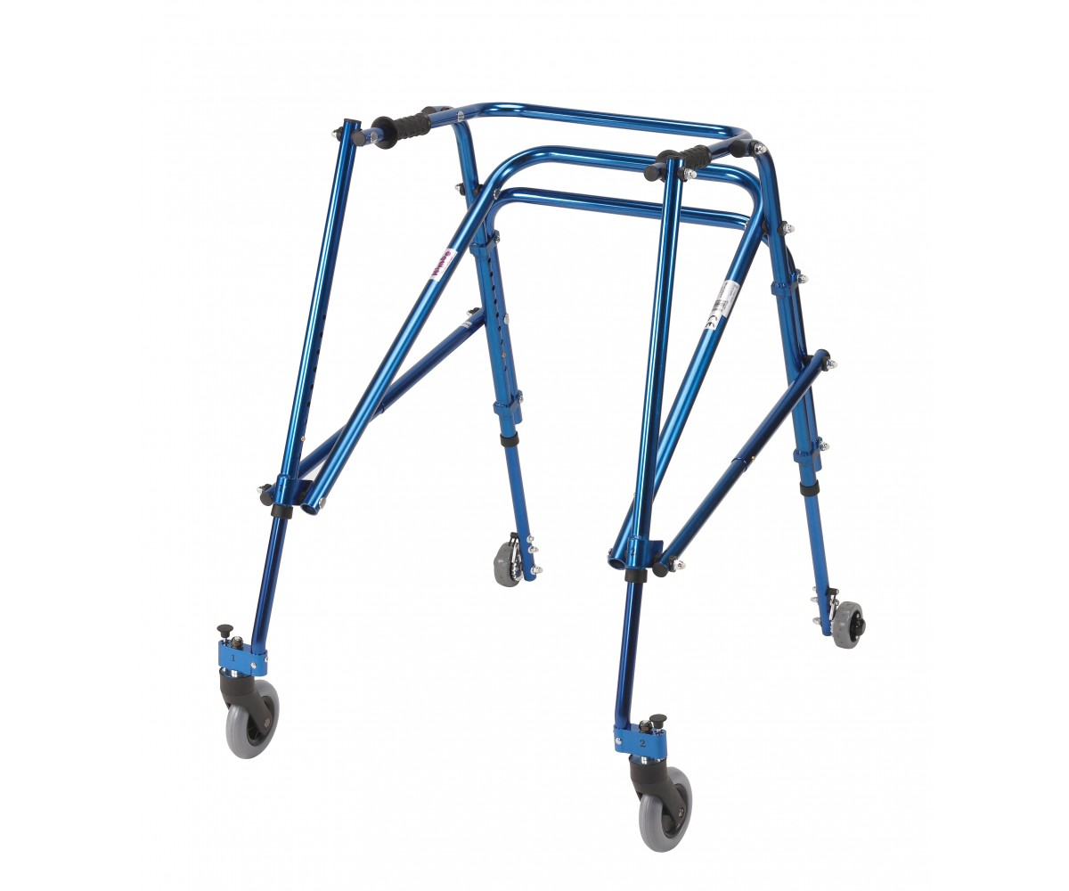 Young Adult Nimbo Rehab Lightweight Midnight Blue Posterior Posture Walker
