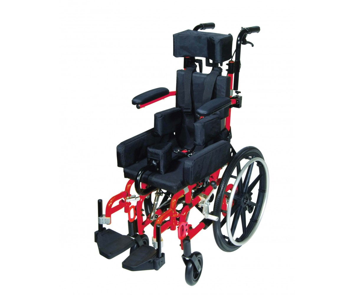 Kanga TS Pediatric Tilt In Space Wheelchair 12""