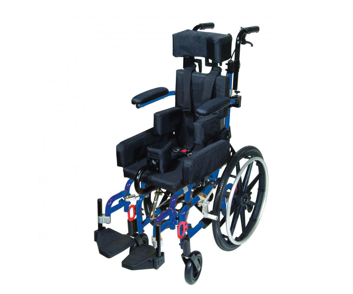 "Kanga TS Pediatric Tilt In Space Wheelchair 14"""