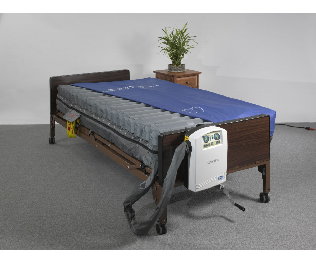 "Masonair 10"" Low Air Mattress and Alternating Pressure Mattress System 48 Inch"