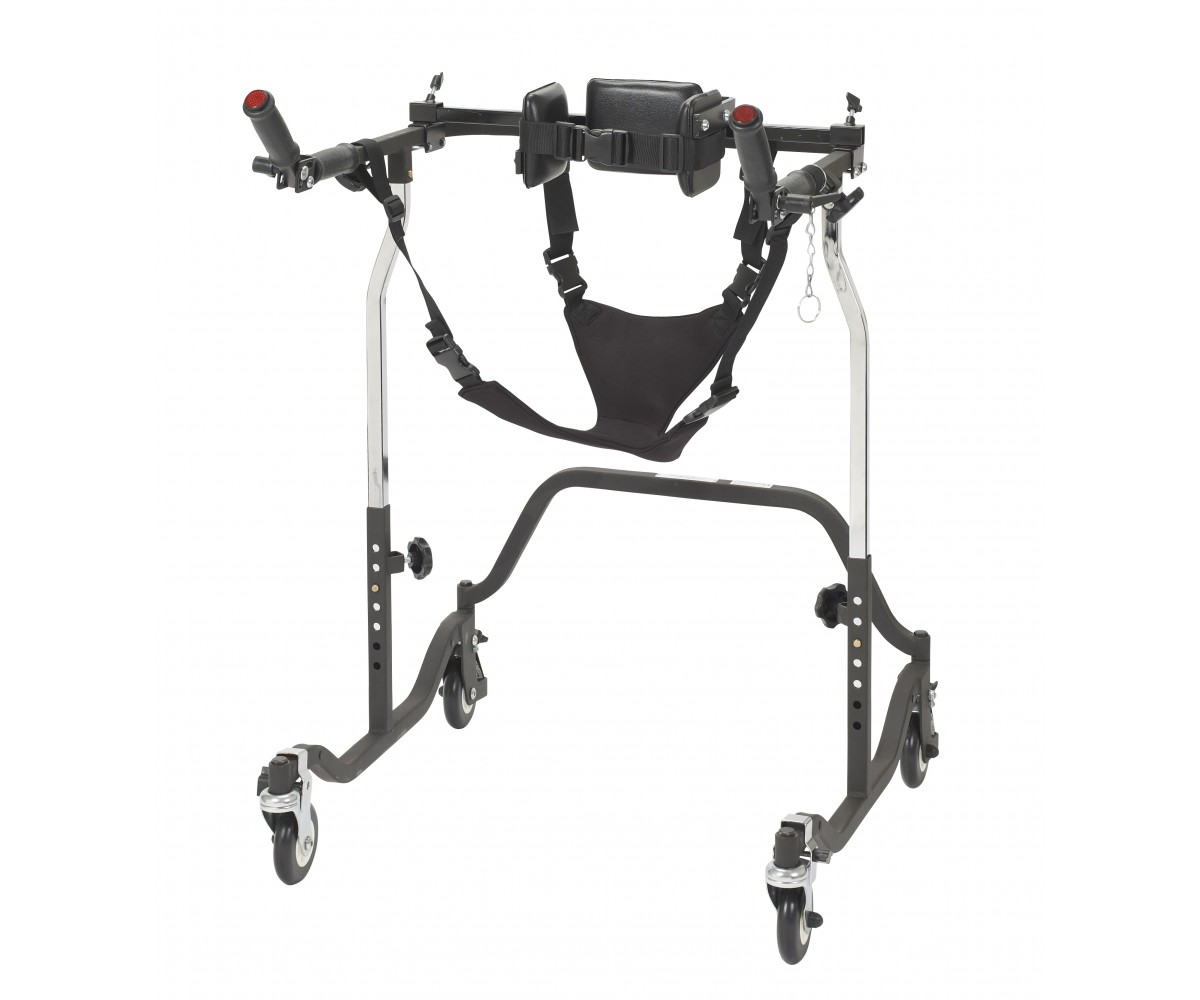 Adult Luminator Black Posterior Gait Trainer
