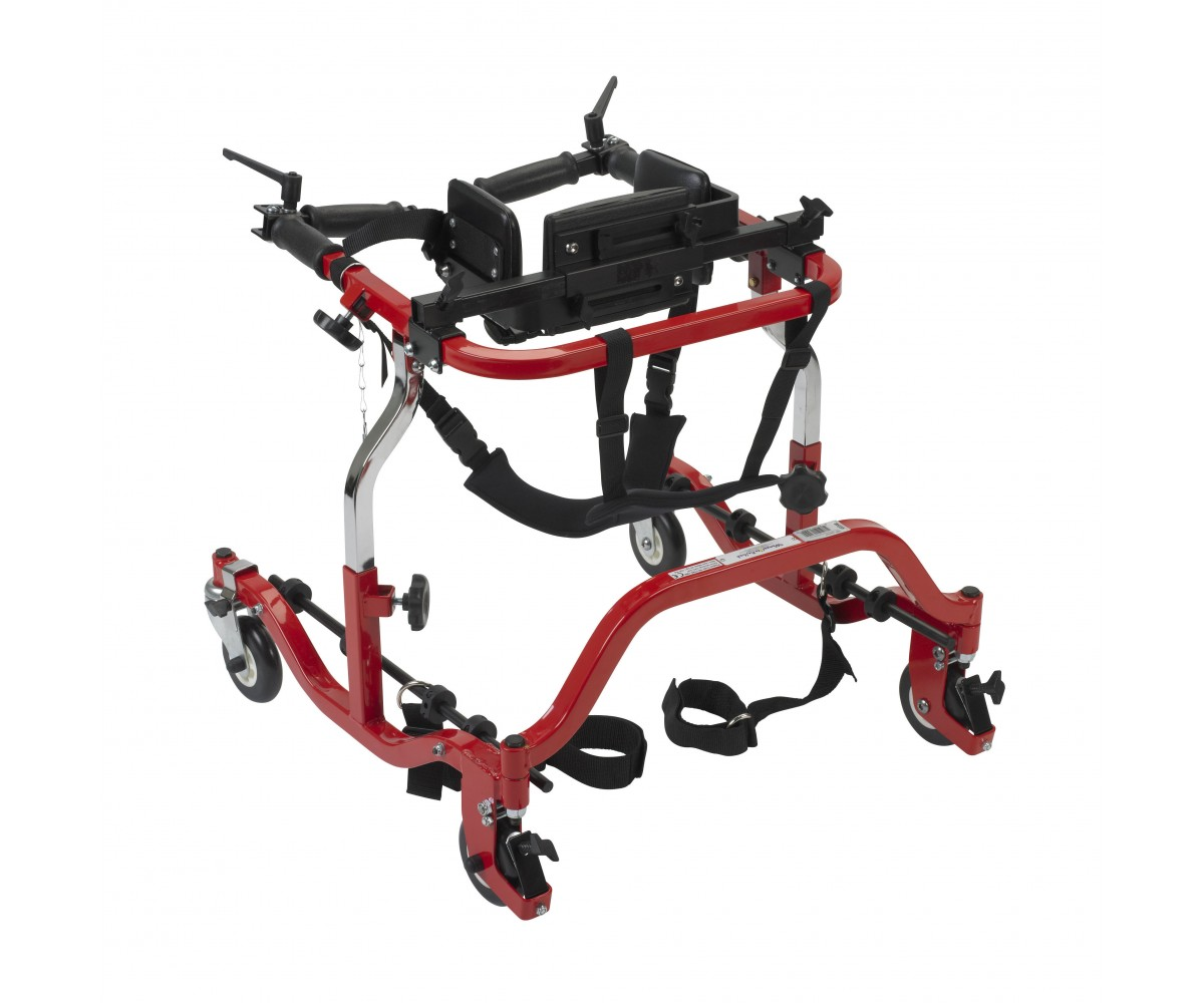 Tyke Star Red Posterior Gait Trainer