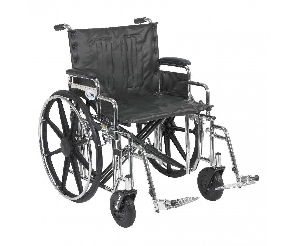 Sentra Extra Heavy Duty Wheelchair With Detachable Desk