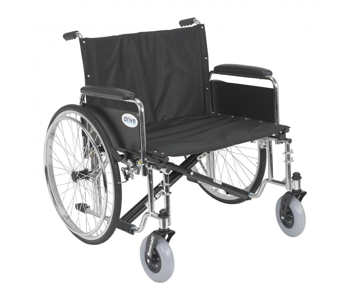 Sentra Ec Heavy Duty Extra Wide Wheelchair With Detachable