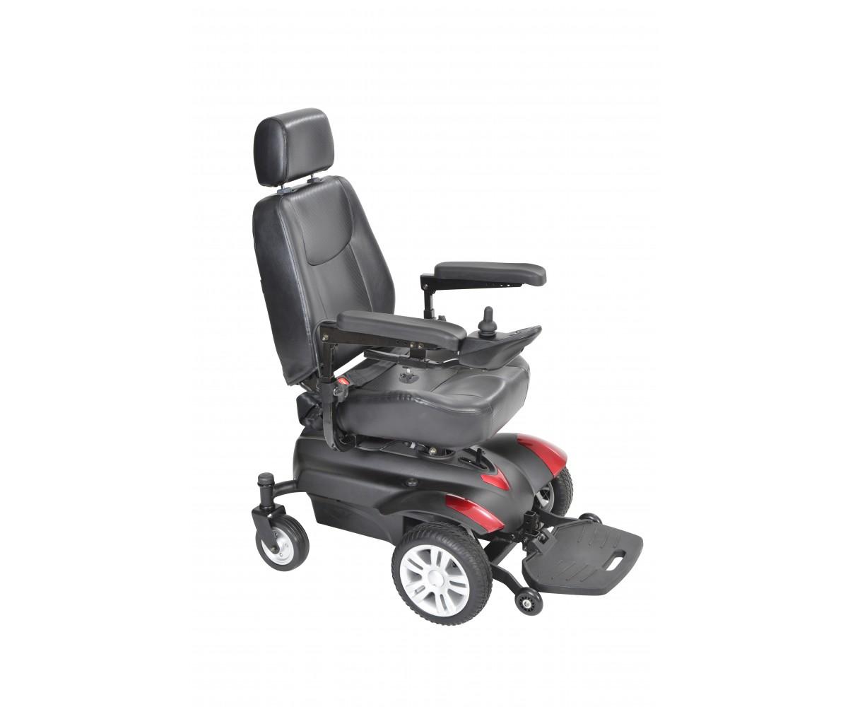 "Titan Front Wheel Power Wheelchair 20"" Captain Seat"