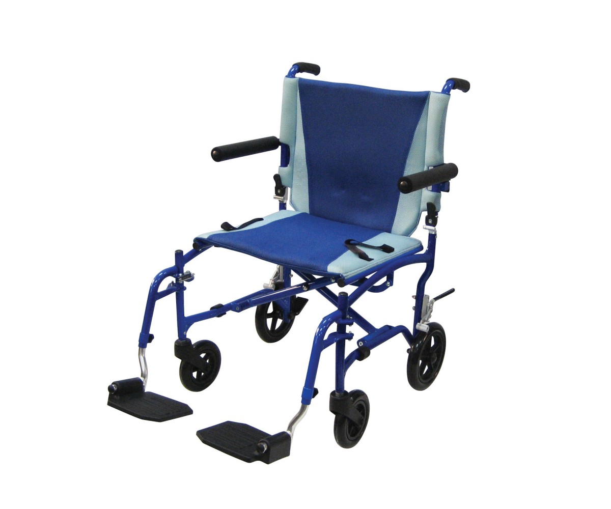 TranSport Aluminum Transport Wheelchair