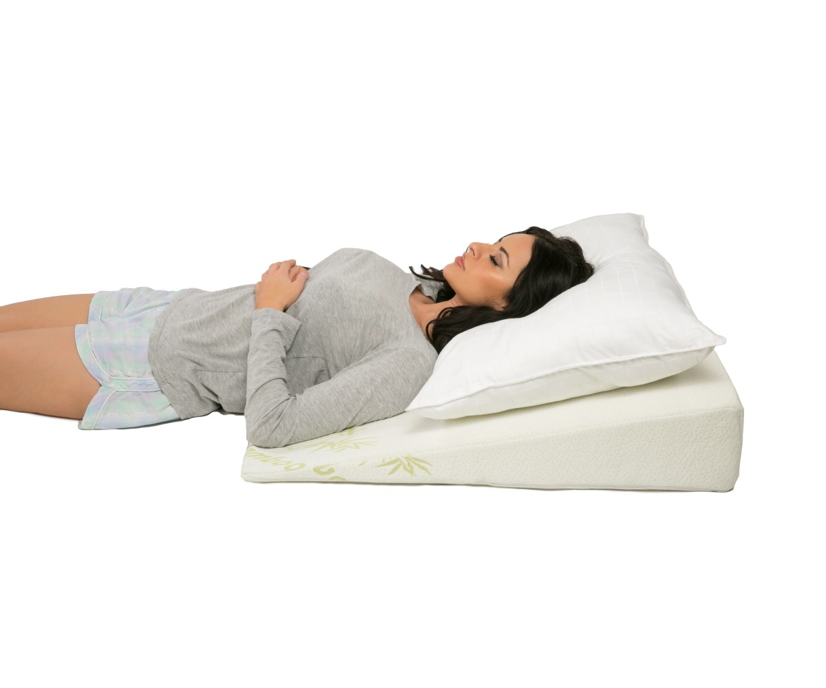 Bamboo Acid Reflux Bed Wedge - 6in