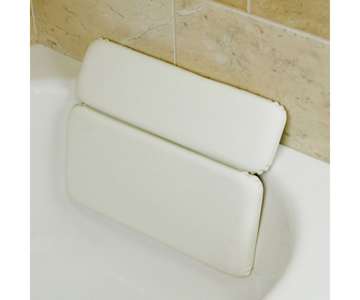 Luxury Comfort LARGE white vinyl spa BATH Pillow hot TUB Dual Bath ...