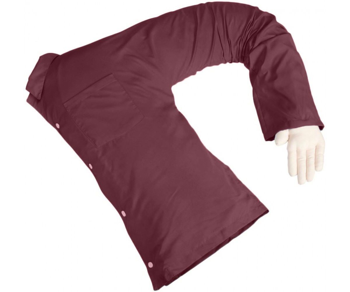 Boyfriend Pillow® Maroon
