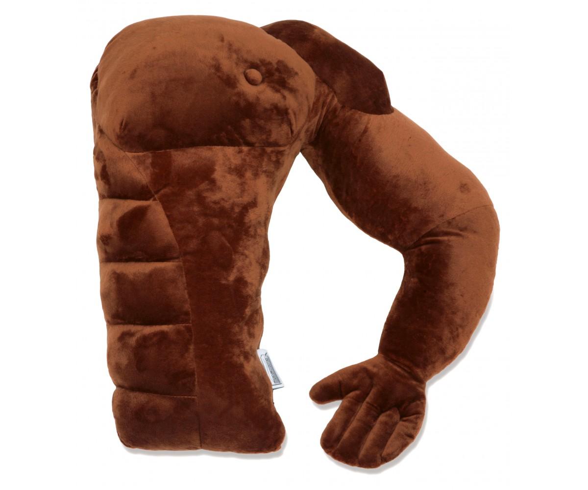 Brown Boyfriend Pillow Muscle Brown Man