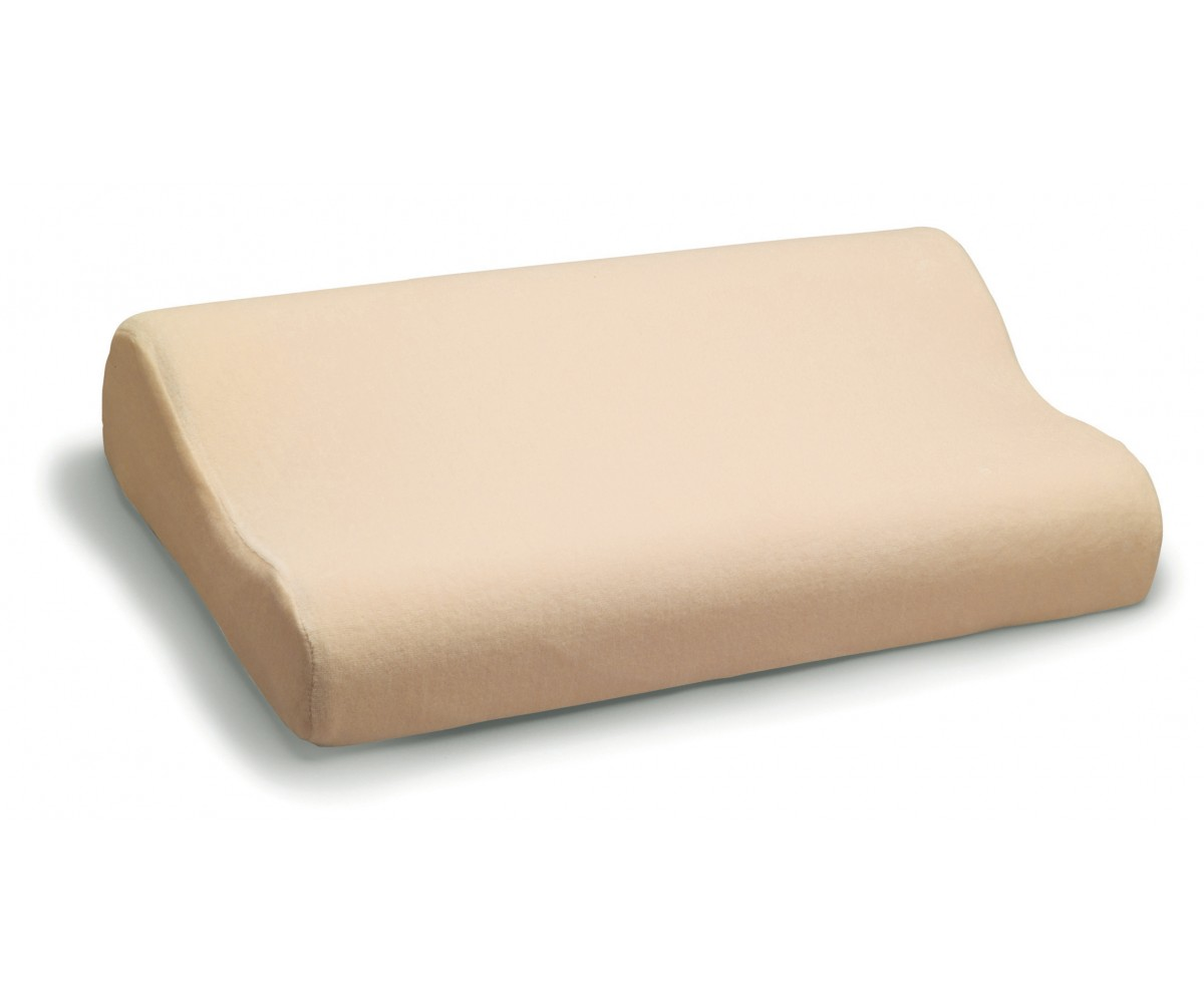 Double Lobe Memory Foam Orthopedic Cervical  pillow