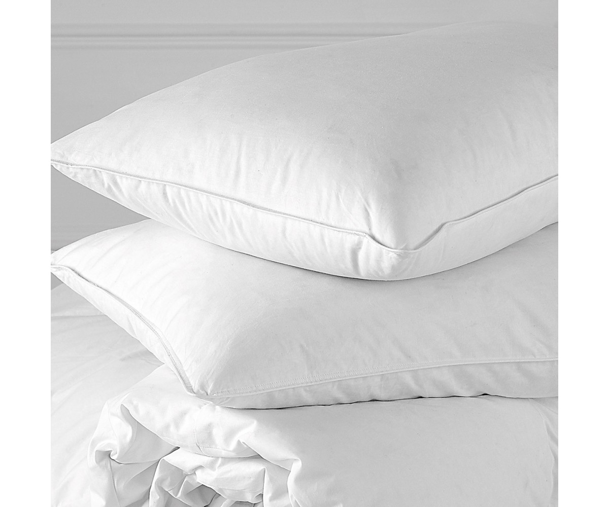 White Goose Three Chamber Down Pillows