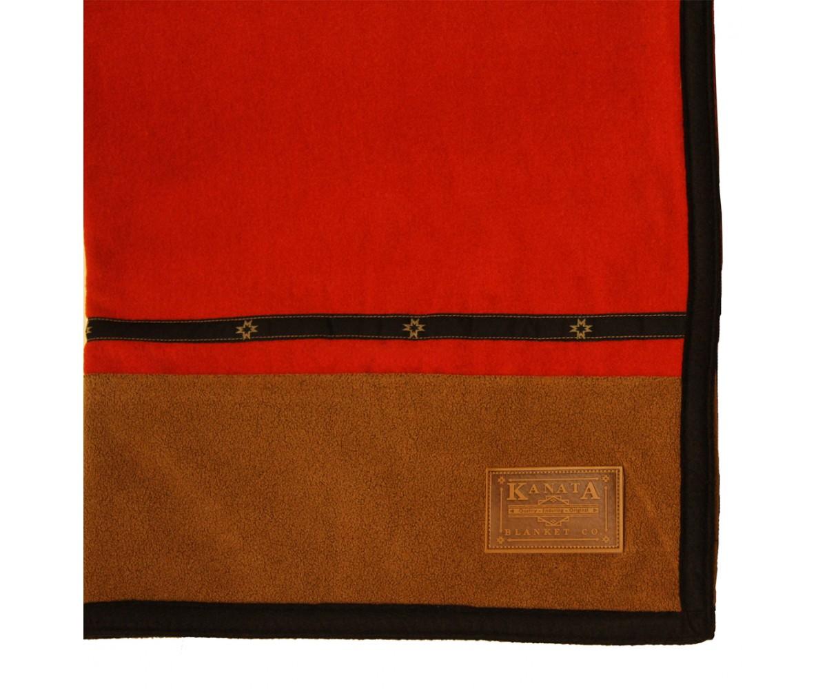 "60""x80"" Lodge Wool Blanket"