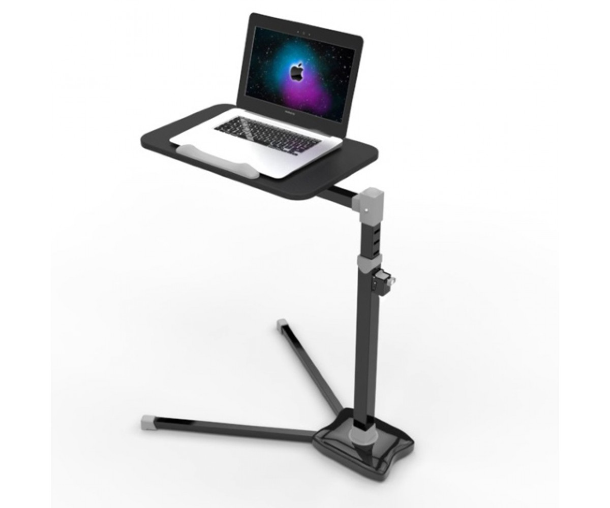 Laptop Stand Computer Desk Adjustable Height V Shape