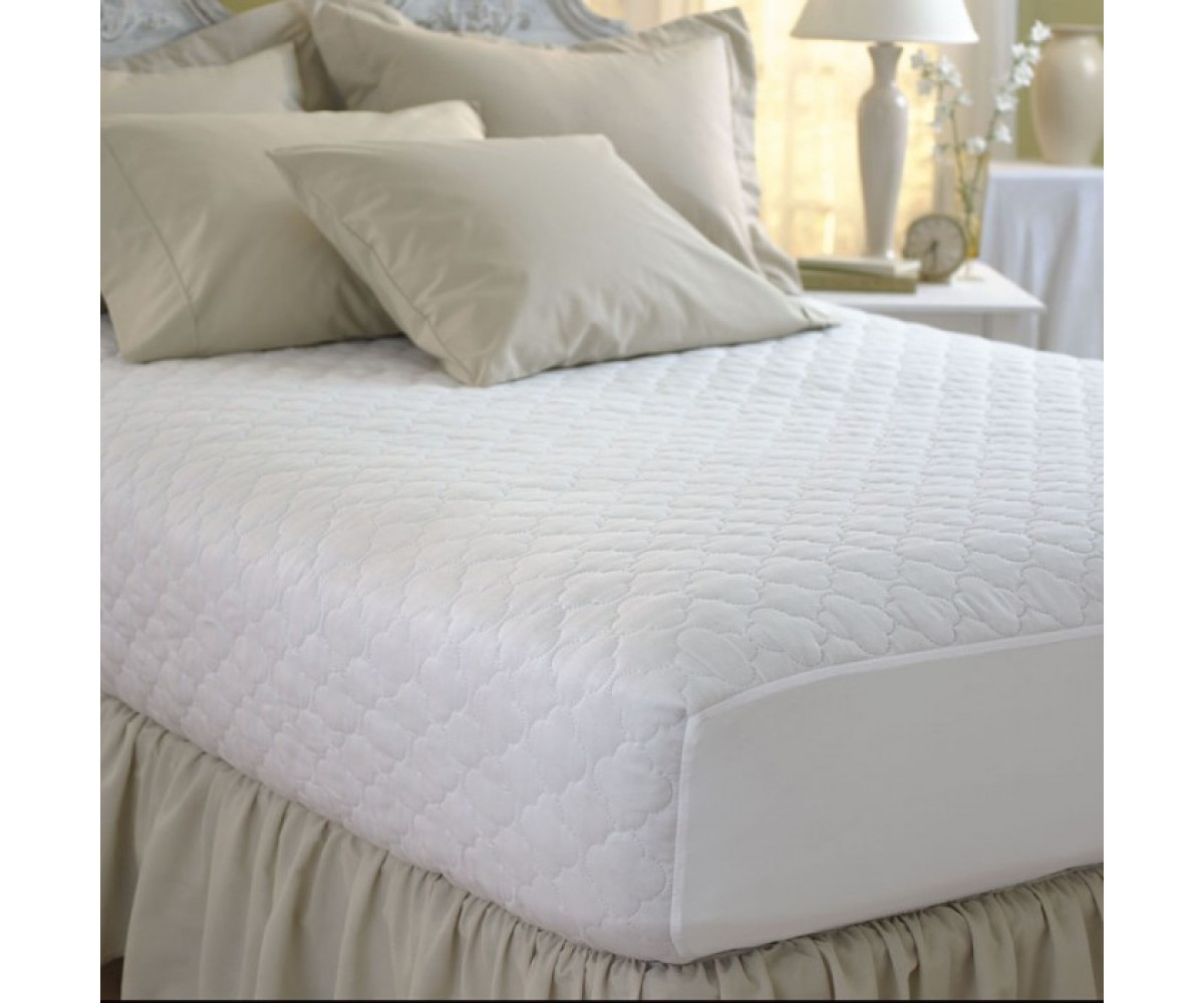 Pacific Coast Feather Restful Nights Cotton Blend Mattress Pad