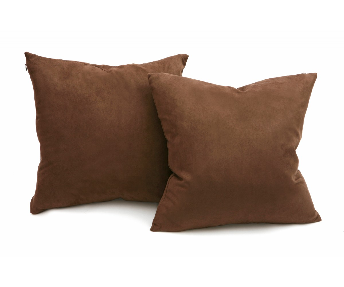 Deco throw pillow Micro Suede Fabric