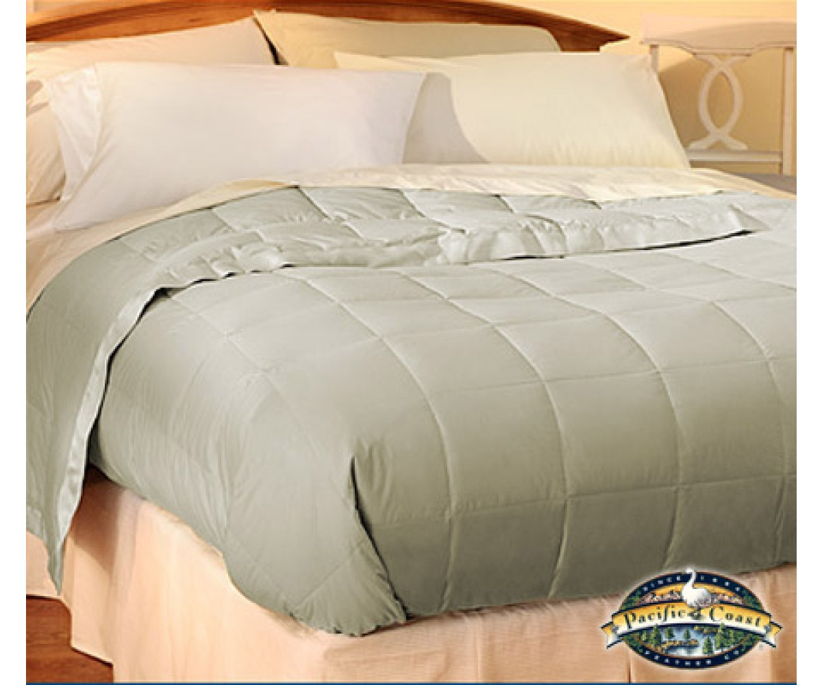 Pacific Coast Down Blanket - Clover