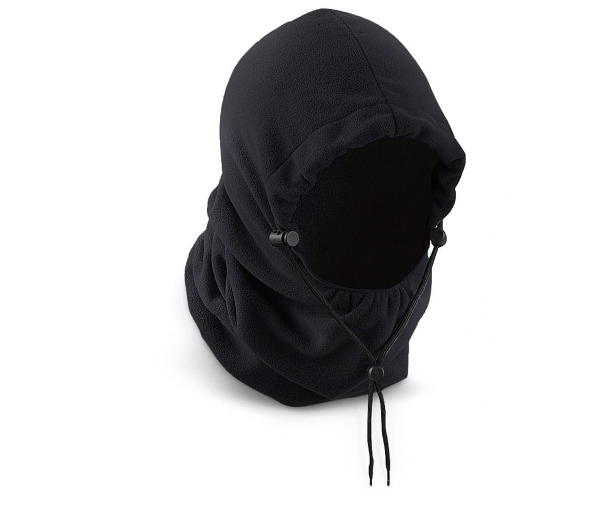 PolarEx 300 GM Fleece Hood - Black