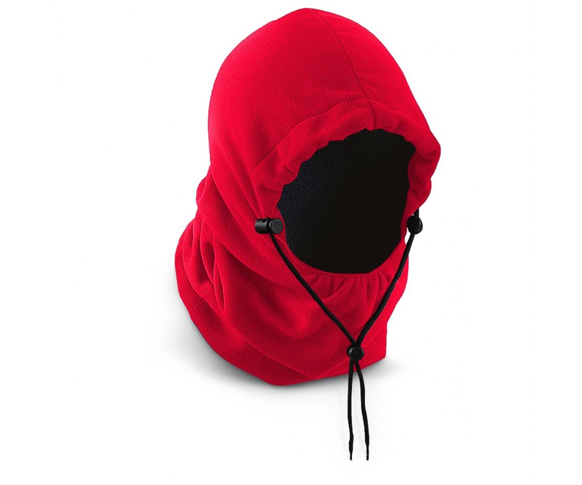 PolarEx 300 GM Fleece Hood - Red