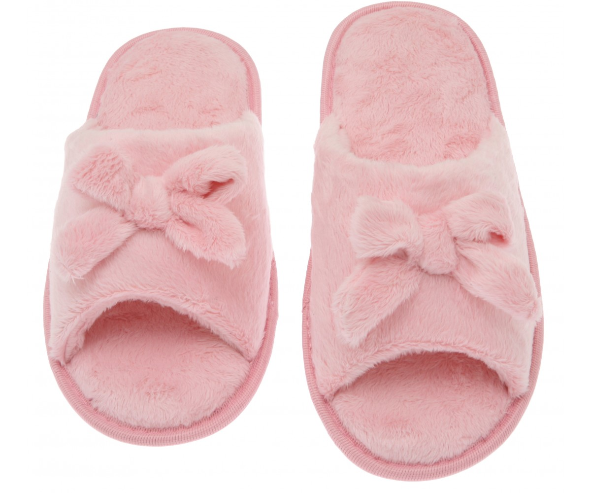 Pink House Slippers for Women