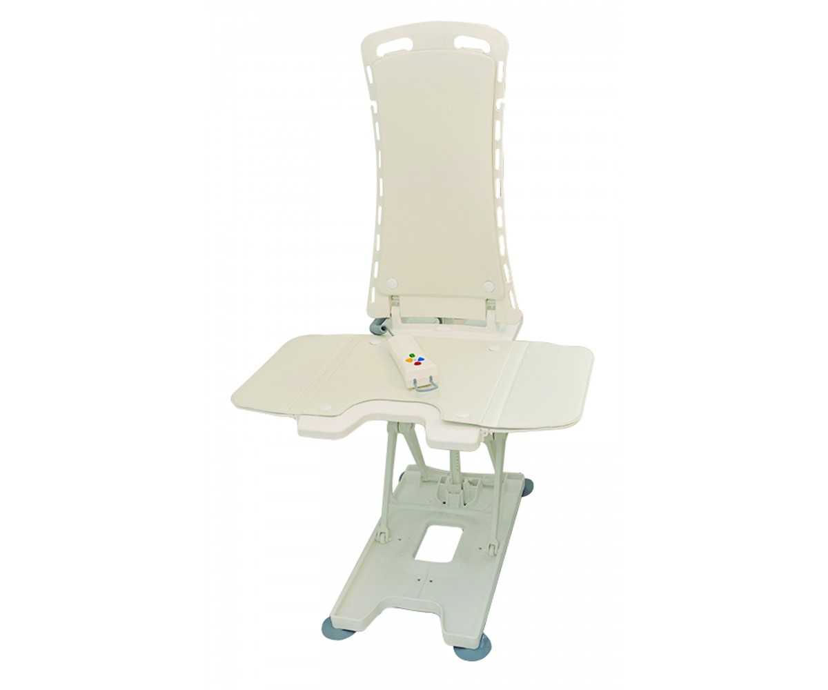 White Bellavita Auto Bath Tub Chair Seat Lift