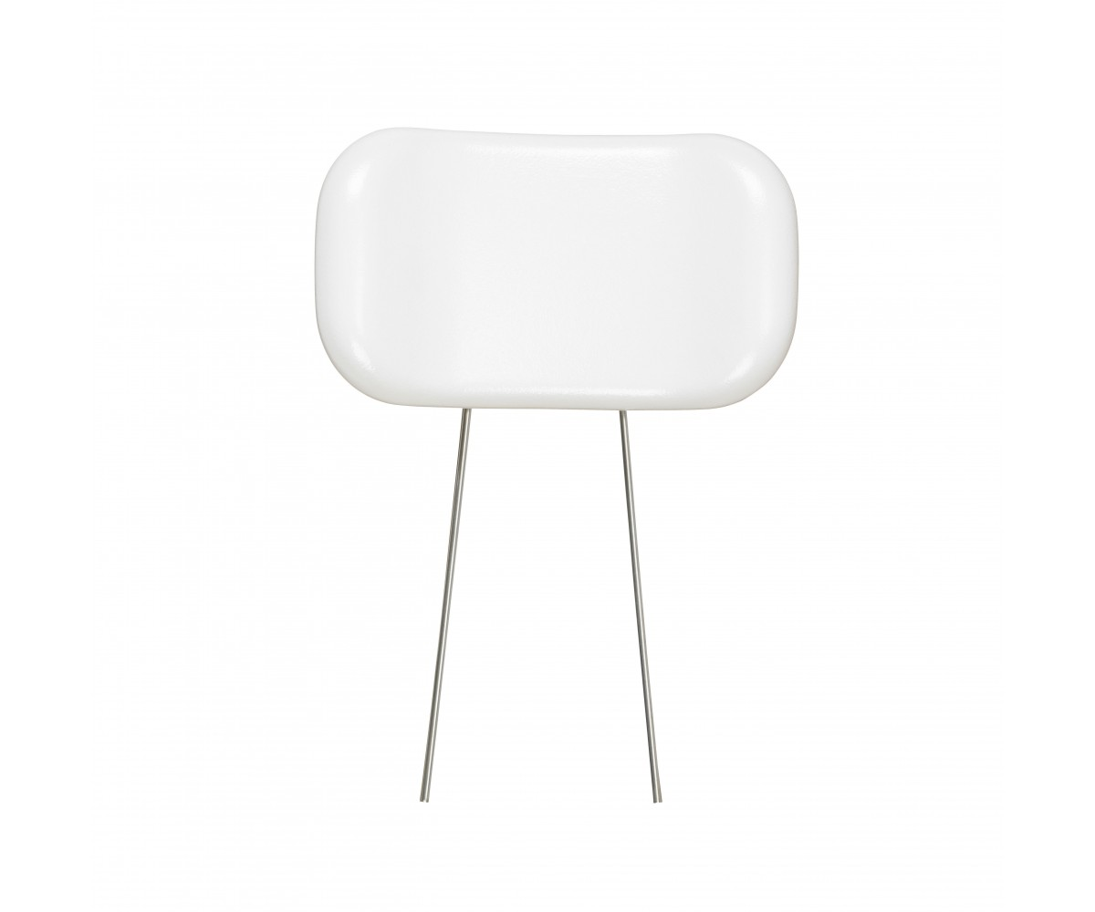 White Bellavita Padded Headrest
