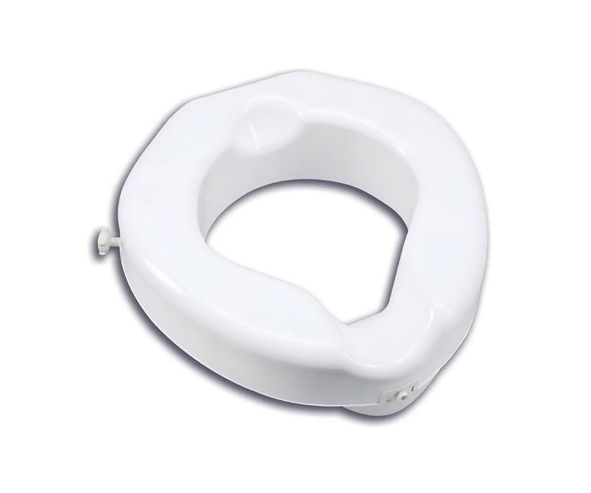 Raised Toilet Seat Deluxe Carex 500 Lb Wt Cap