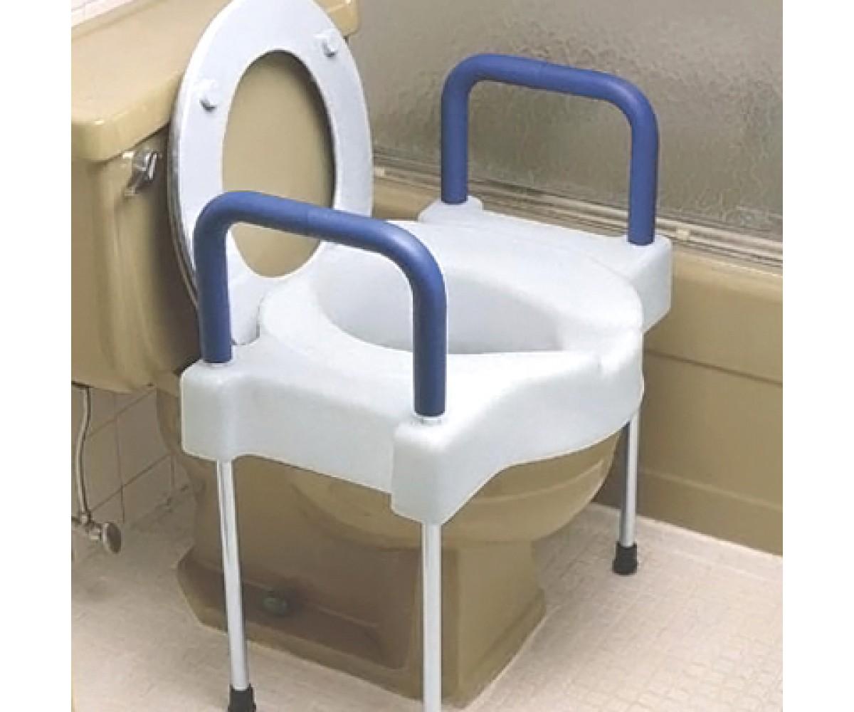 Tallette Elevated Toilet Wlegs X-Wide 300 Lb Alum