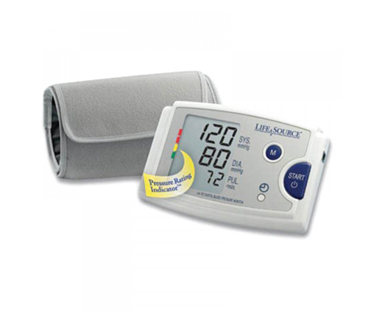Lifesource UA-787v Quick Response Auto Inflate Blood Pressure Monitor With EasyCuff