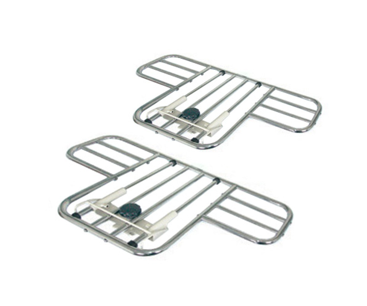 Half-Length Steel Bed Rails