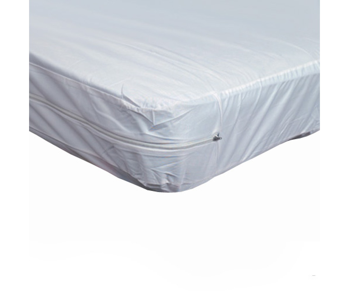 Twin Zippered Plastic Mattress Protector For Home Beds