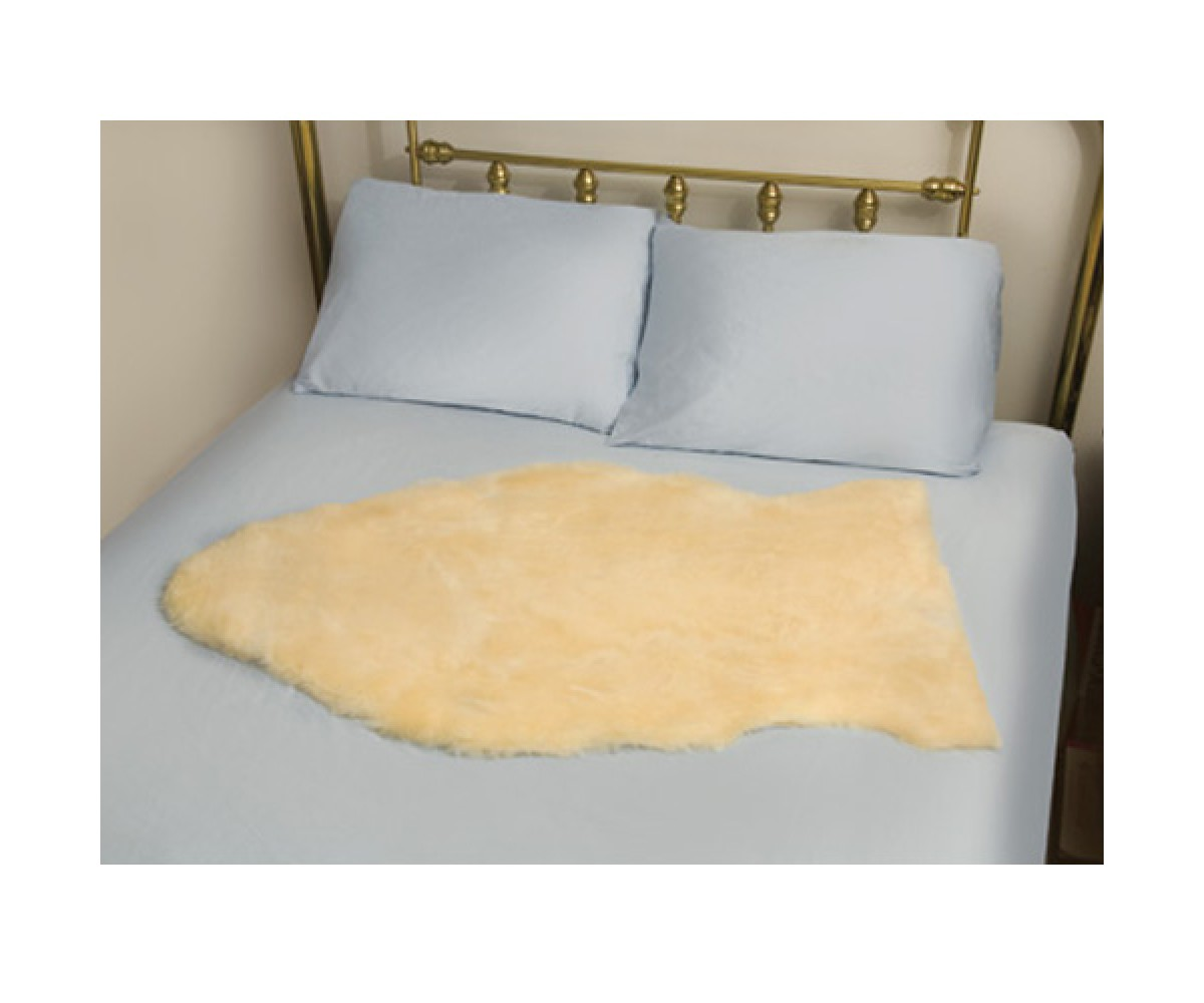 Mabis Deluxe Natural Sheepskin