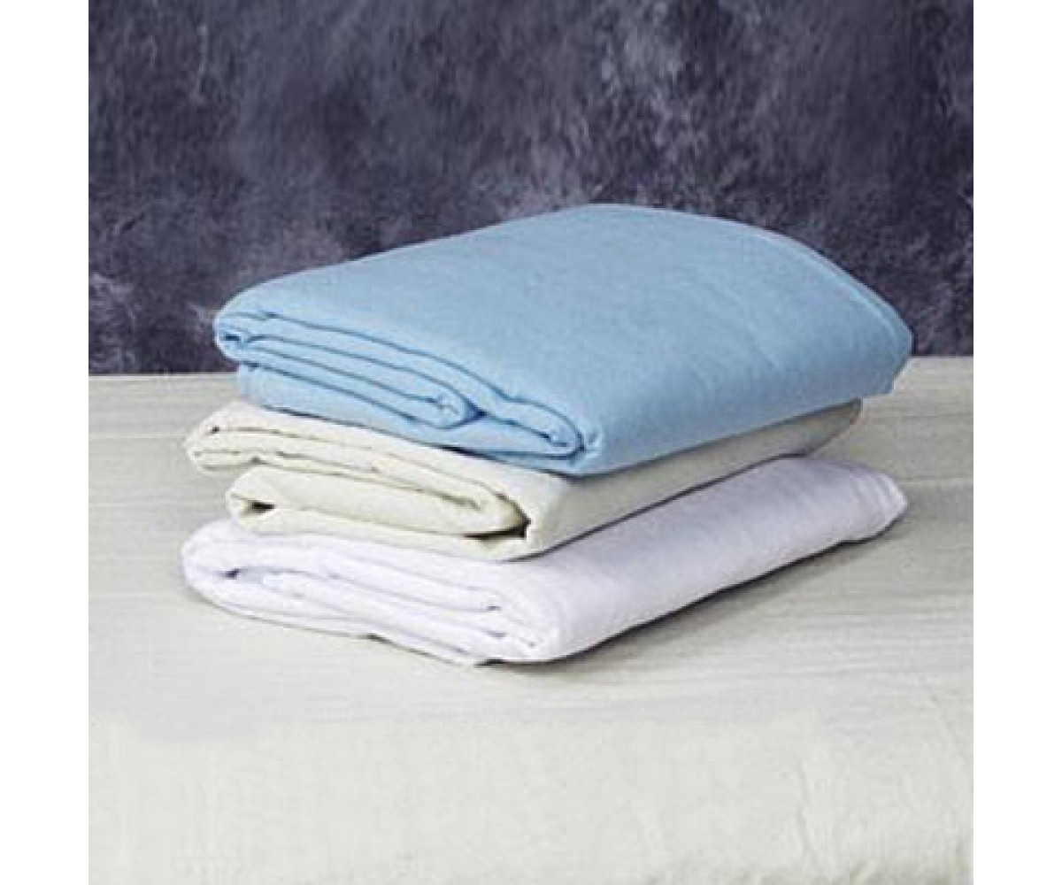 Linen Set for Massage Table White Flannel Set 45