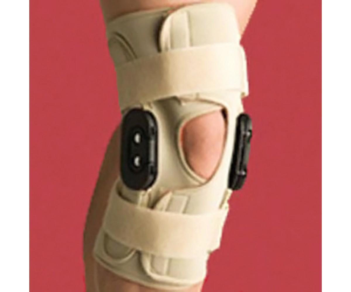 Knee Brace Open Wrap Flexion Extension - Large