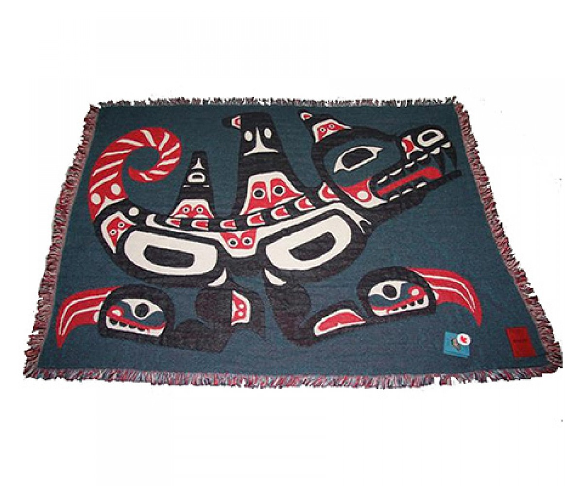 "Joe Mandur """"wasgo"""" Cotton Throw"