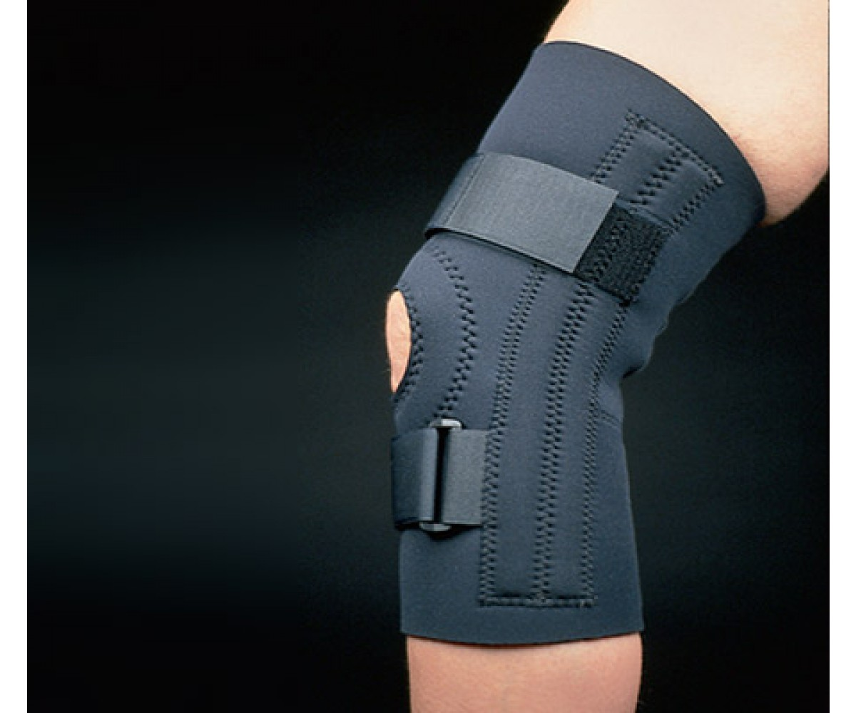 Standard Neoprene Knee Support, Blue - XL