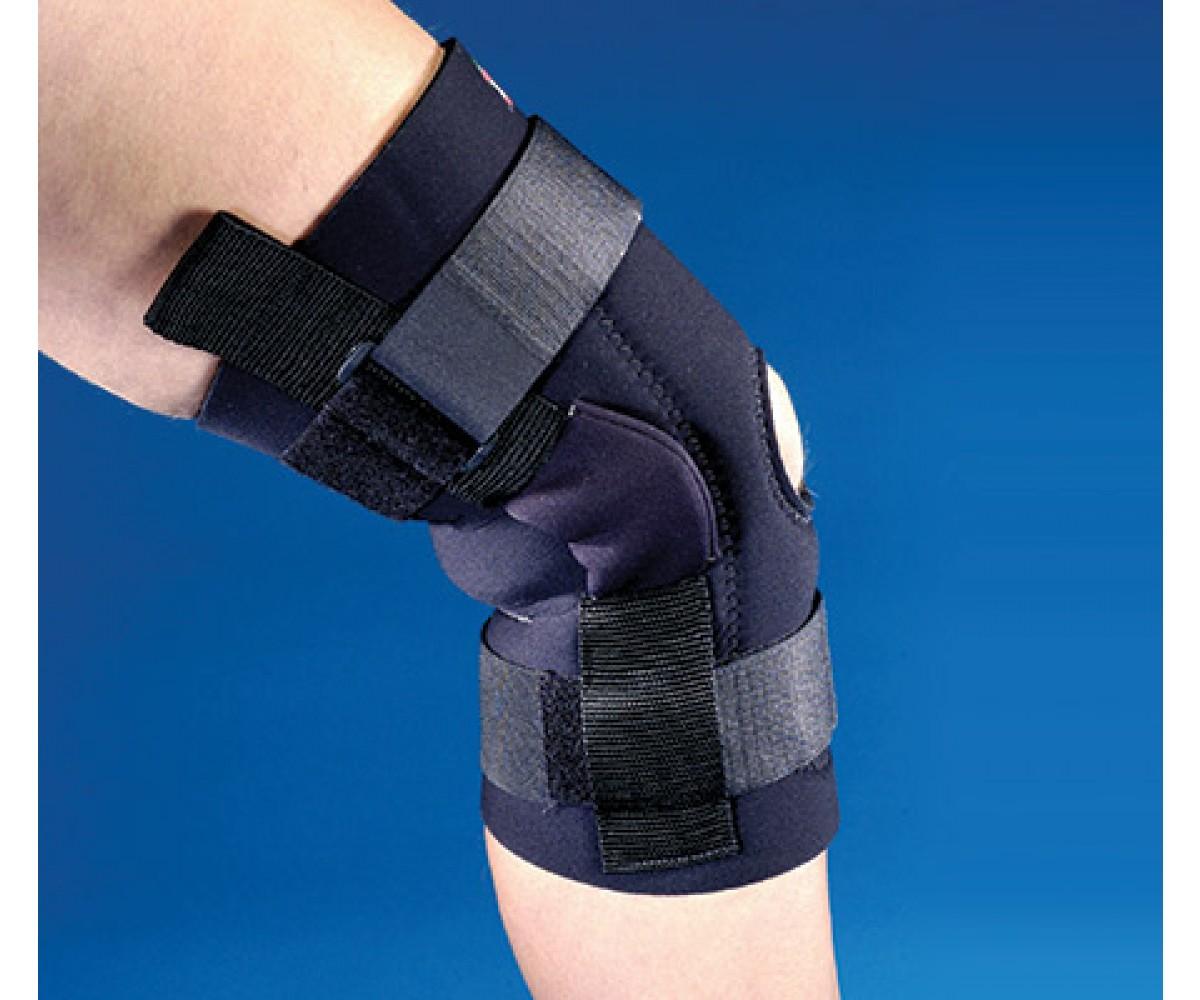 Deluxe Neoprene Knee Support, Black - Small